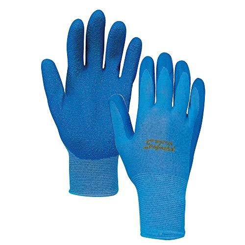 おたふく手袋 ソフキャッチ 冬用 薄手 ゴム手袋 裏起毛 LL A-364
