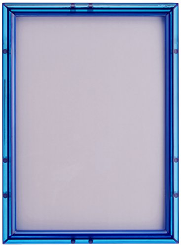 パズルフレーム クリスタルパネル ブルー(18.2x25.7cm)