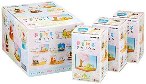 すみっコぐらし 春夏秋冬テラリウム BOX商品 1BOX=6個入り、全6種類