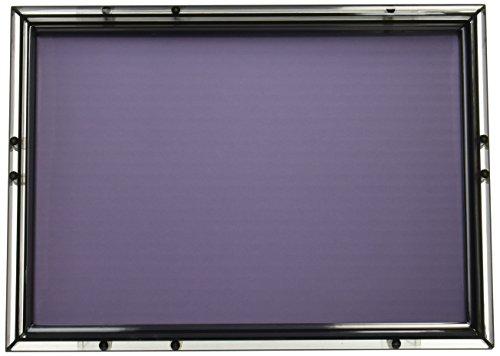 パズルフレーム クリスタルパネル スモークブラック(18.2x25.7cm)