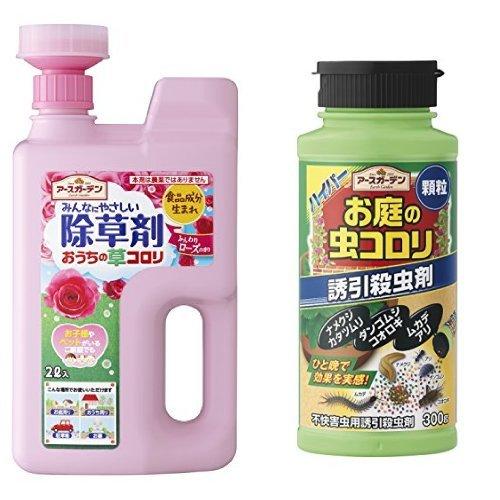 アース製薬 アースガーデン おうちの草コロリジョウロヘッドローズ 2L ふんわりローズの香り 虫コロリセット
