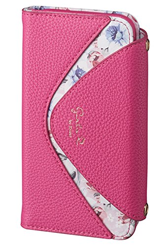 サンクレスト Girlsi iPhoneX 5.8インチ対応 手帳型 ダイアリーカバー デルタシリーズ ピンク iP8-GI05