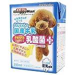 (まとめ買い)ドギーマン わんちゃんの国産牛乳 乳酸菌プラス 200ml 犬用 【×12】