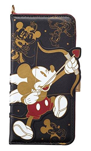サンクレスト iDress iPhoneX 5.8インチ対応ケース 手帳型 ダイカットカバー ディズニーキャラクター ミッキー&フレンズ iP8-DN01