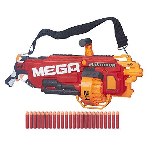 Nerf N-Strike MEGA Mastodon Blaster Includes motorized blaster by N-Strike MEGA Mastodon Blaster