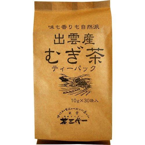 出雲産 むぎ茶 10g×30p ティーパック×20袋 茶三代一 出雲育ち 出雲ブランド商品認定
