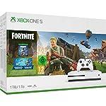 Xbox One S 1TB Fortniteコンソール(Eonコスメティックセットおよび2000 Vバックス付き)