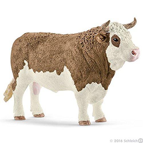 シュライヒ ファームワールド シンメンタール牛 (オス) フィギュア 13800