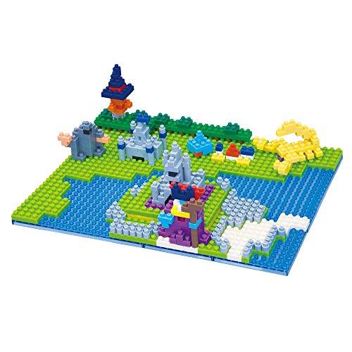 ドラゴンクエスト ナノブロック ラダトームの城/竜王の城