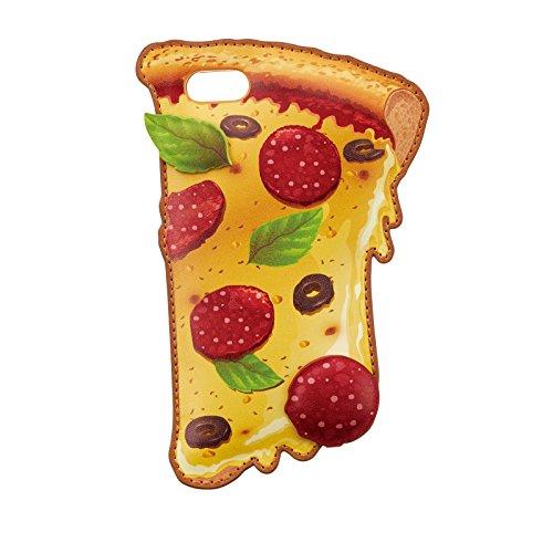 サンクレスト Characters iphone8/7/6s/6 4.7インチ 対応 バックカバー アメリカンデリシリーズ ピザ iP7-CH06