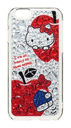 サンクレスト iDress iPhone6 4.7inch対応 ジュエリーカバー ハローキティ アップル iP6-KT01