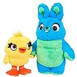 ディズニー ピクサー トイストーリー4 ダッキー & バニー ぬいぐるみセット Disney Pixar Toy Story 4 Ducky & Bunny