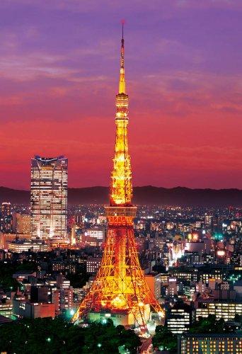 300ピース ジグソーパズル 東京タワー ライトアップ (26x38cm)