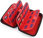 カードケース 72枚 Nintendo 収納 Switch 3DS DS Ps Vita SD メモリーカード 大容量 Momen® i1038-1
