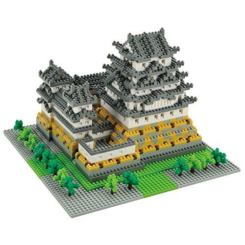 Nanoblock Architecture - Himeji Castle (Non-lego) - 2253 Pieces [並行輸入品]