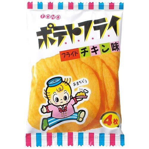 東豊製菓 ポテトフライ<フライドチキン味>11gx20袋x2箱