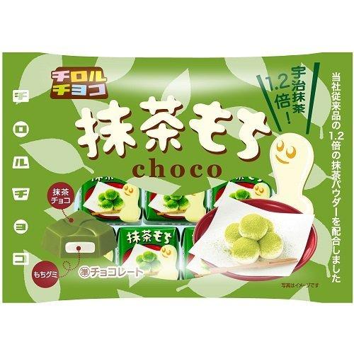 チロルチョコ 抹茶もち<袋> 7個入り × 5袋