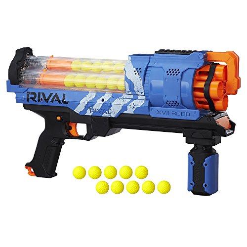 Nerf Rival Artemis XVII 3000アクションフィギュア、ブルー B8235