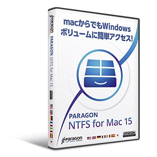Paragon NTFS for Mac 15 シングルライセンス Amazon