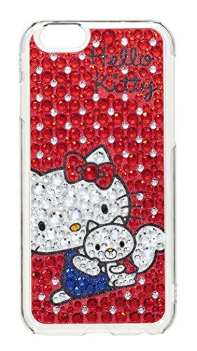 サンクレスト iDress iPhone6 4.7inch対応 ジュエリーカバー ハローキティ レッドドット iP6-KT02