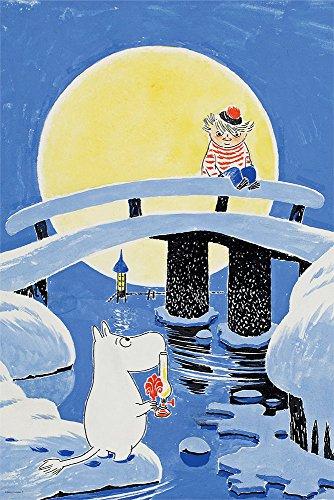 1000ピース ジグソーパズル ムーミンとおしゃまさん―『ムーミン谷の冬』より―(50x75cm)