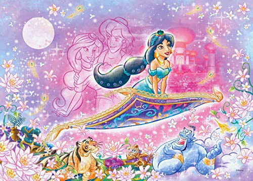 500ピース ジグソーパズル ディズニー Exotic Romance -Jasmine-(エキゾチックロマンス-ジャスミン-) 【パズルデコレーション】(38x53cm)