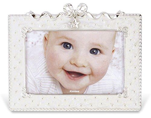 キシマ Kishima マイト ベビーフレーム (ポストカードサイズ) White ホワイト KP-30829 0ヶ月~36ヶ月 出産祝い
