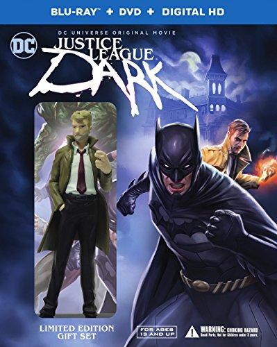 Justice League: Dark (Deluxe Edition) (BD/DVD/UV) [Blu-ray]