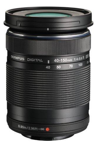 Olympus M. 40-150mm F4.0-5.6 R Zoom Lens (Black) for Olympus and Panasonic Micro 4/3 Cameras