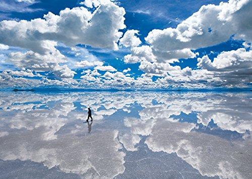 108ピース ジグソーパズル ウユニ塩湖―ボリビア(18.2x25.7cm)