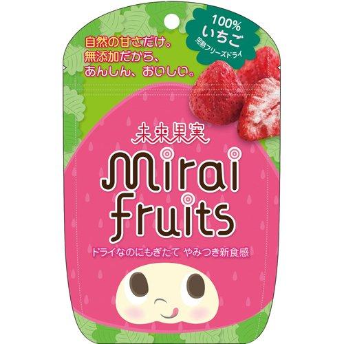 テクセルジャパン 未来果実 ミライフルーツ いちご×6個