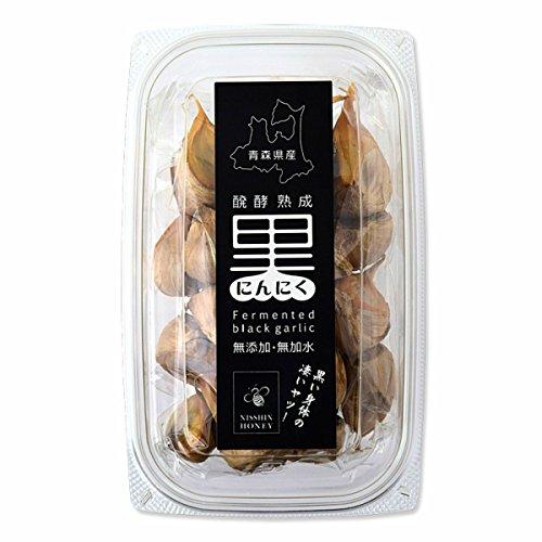 【送料無料】日新蜂蜜 醗酵熟成 青森県産 黒にんにくほぐし 180g(フルーツガーリック)