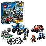 レゴ(LEGO) シティ 山のポリスカーとポリスバイク 60172 ブロック おもちゃ 男の子 車