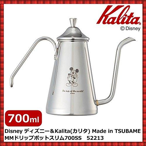 Disney ディズニー&Kalita(カリタ) Made in TSUBAME MMドリップポットスリム 700SS 52213