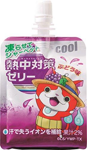 赤穂化成 熱中対策ゼリー ぶどう味 150g×24個入×3ケース(72個)