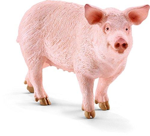 Schleich Pig Figurine Toy Figure [並行輸入品]