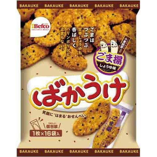 栗山米菓 ばかうけ ごま揚 16枚入