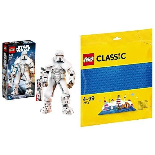 レゴ(LEGO) スター・ウォーズ レンジ・トルーパー 75536 & クラシック 基礎板(ブルー) 10714