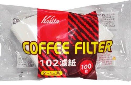 Kalita Paper Coffee Filter 102 Size White 100 sheets by Kalita [並行輸入品]