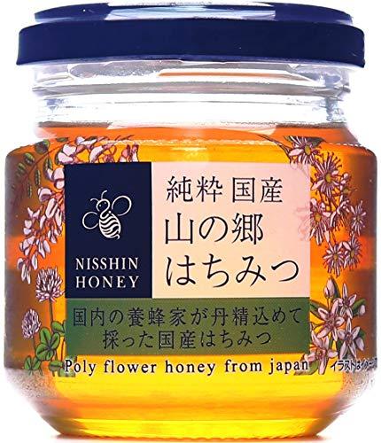 日新蜂蜜 純粋国産山の郷はちみつ 120g