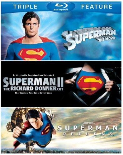 Superman the Movie/Superman 2/Superman Returns [Blu-ray] [Import]