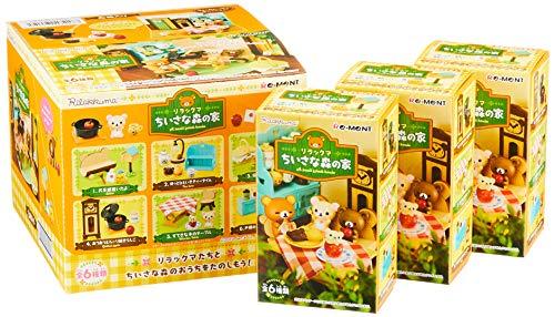 リラックマ ちいさな森の家 BOX商品 1BOX=6個入り、全6種類