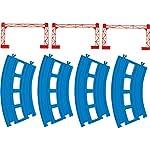 プラレール 複線曲線レール(4本入) R-05