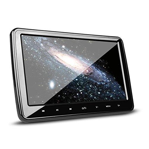 (HD101)XTRONS HDMI連動 高画質 大画面 軽量薄型 取付0円 10インチ ヘッドレスト DVDプレーヤーモニター ゲーム USB・SD