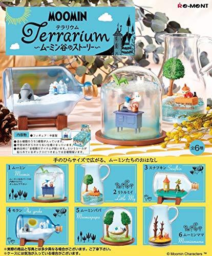 MOOMIN Terrarium ~ムーミン谷のストーリー~ BOX商品 1BOX=6個入り、全6種類