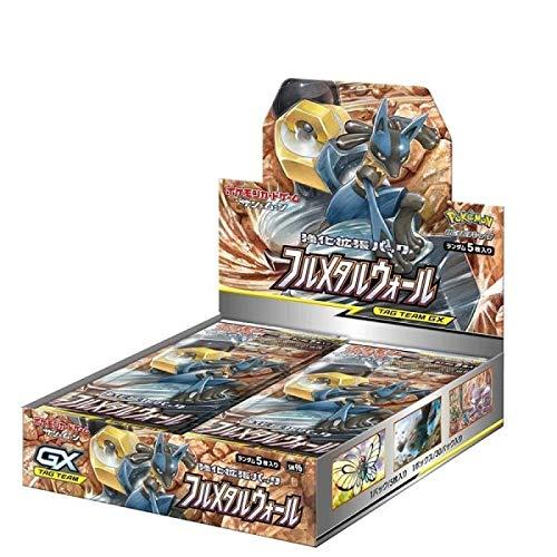 ポケモン カードゲーム サン&ムーン 強化拡張パック フルメタルウォール 30パック入BOX ポケットモンスター 4521329246109