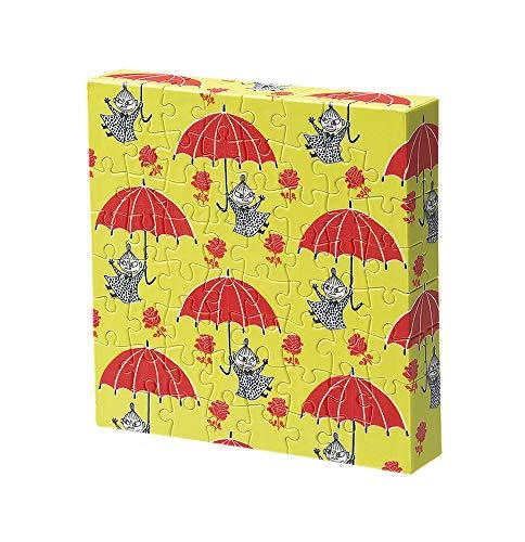 56ピース ジグソーパズル MOOMIN リトルミイの赤い傘 【キャンバスパズル】
