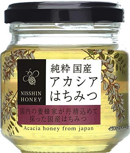 日新蜂蜜 純粋国産アカシアはちみつ 120g