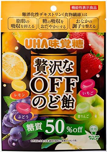 味覚糖 贅沢なOFFのど飴 71G×72袋