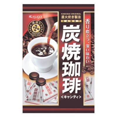 春日井製菓 炭焼珈琲 100g×12袋入×(2ケース)